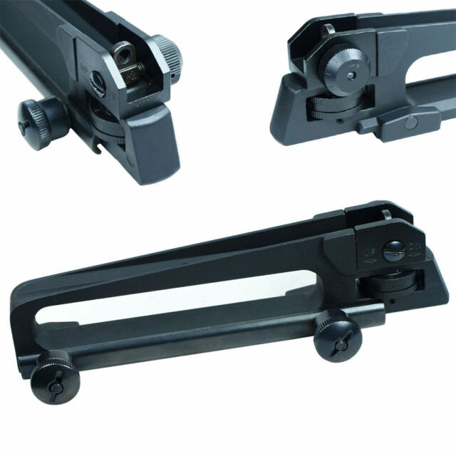 HOT Weaver Picatinny Rail Flattop QD Quick Release Carry Handle w/ Rear Sight