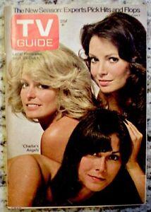 TV-Guide-1976-Charlie-039-s-Angels-Farrah-Fawcett-Majors-Kate-Jaclyn-1226-VG-EX-COA