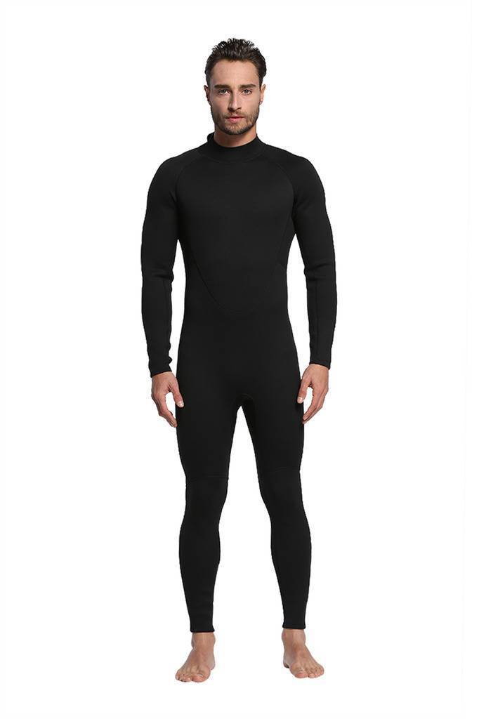 Traje De Neopreno MT8 de hombre 2mm SCR Negro Impermeable Cálido close-fitting Traje de Buceo