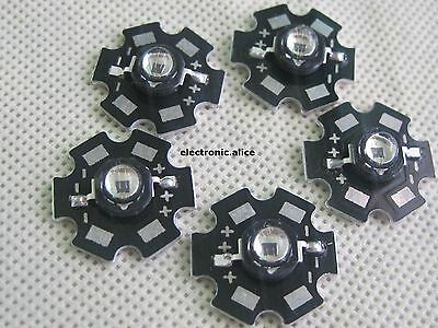 10pcs 3W Infrared IR 940NM 60degree High Power LED Emitter with 20mm Star Base
