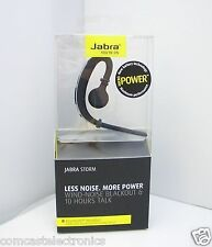 100% GENUINE JABRA STORM BLUETOOTH HEADSET HD VOICE NFC NOISE BLACKOUT UK STOCK