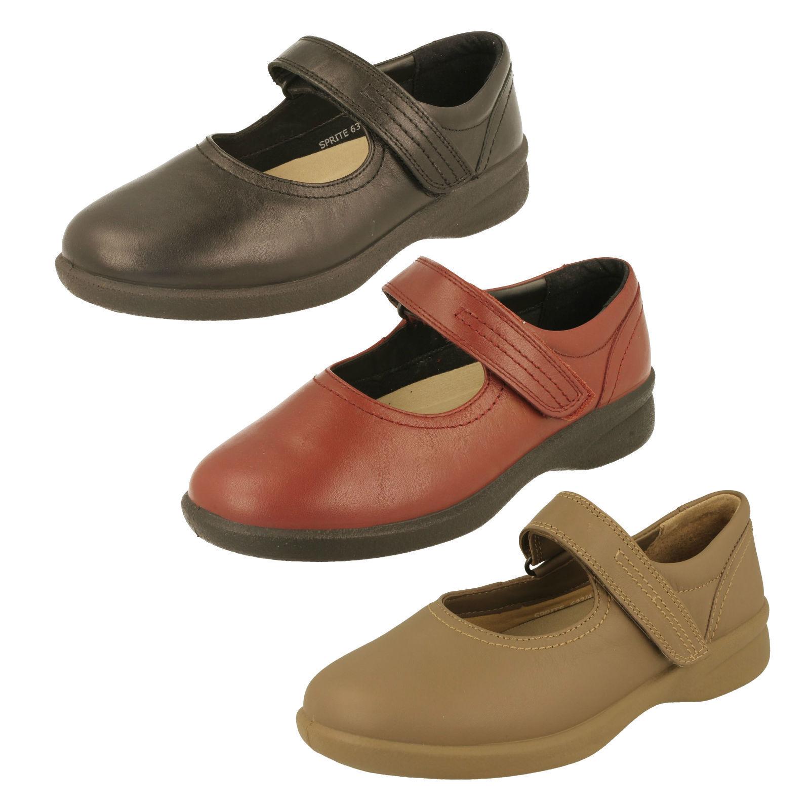 Los últimos zapatos de descuento para hombres y mujeres Descuento por tiempo limitado Padders Ladies EEE/EEEE Wide Fit Shoes Style - Sprite