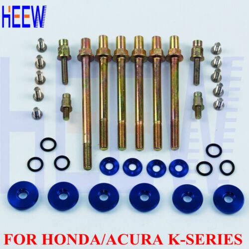 FOR Honda Acura K-Series K20 K24 Engine Valve Cover Fender Washer Screw Bolts B