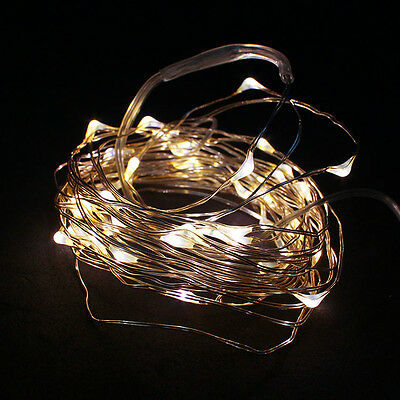 BB 100% Brand New 2M LED Copper Wire LED String Fairy Lights Lamp Christmas CA 3