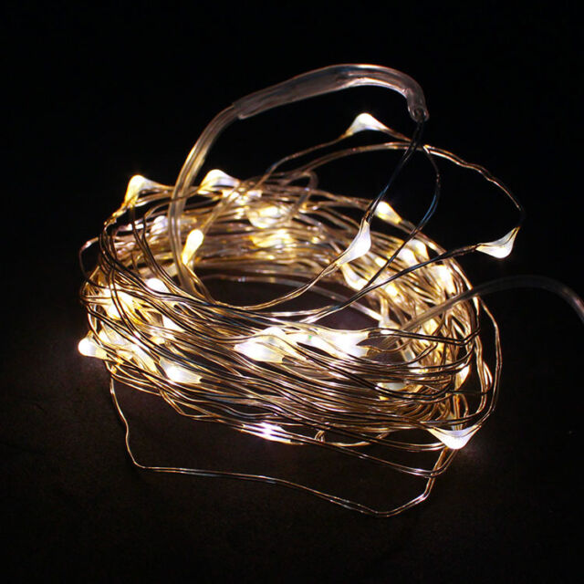 LA 2M String Fairy Light 20 LED Battery Operated Xmas Lights Party Wedding US1