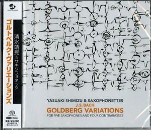 YASUAKI-SHIMIZU-amp-SAXOPHONETTES-GOLDBERG-VARIATIONS-JAPAN-SACD-HYBRID-G88