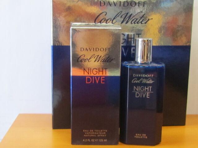 ad3fc8a4980 Cool Water Night Dive by Davidoff Eau De Toilette Spray 4.2 Oz Men 125 Ml