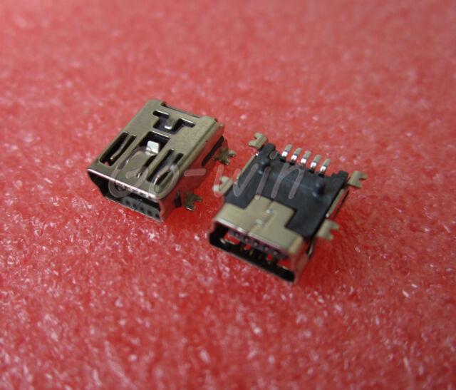 20PCS Mini USB SMD 5-Pin Female Mini B Socket Connector