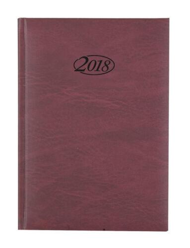 Chefkalender 2018 bordeaux Farbe Buchkalender