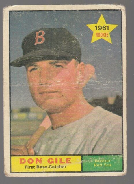1961 Topps Don Gile 236 Baseball Card