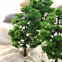 10pcs Train Model Tree Set Railway Wargame Scenery HO N Scale Park Street Layout