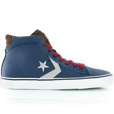 9fa5ecf0021a96 Converse Cons PRO LEATHER VULC MID POSEIDON 140756C BLUE BROWN GREY Size 10  New