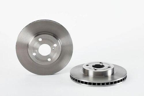 Omnicraft Vented Brake Disc Set 255mm Toyota Corolla Estate 1.4 VVT-i 2134537