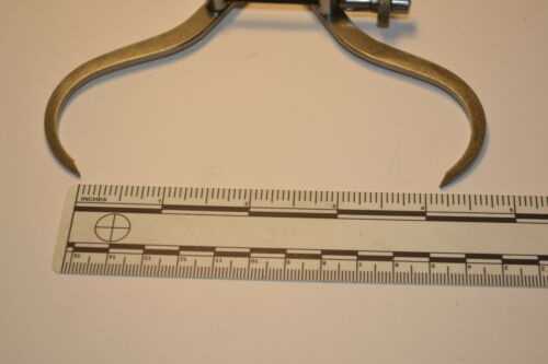 """OUTSIDE SPRING JOINT CALIPER Item #073B 100mm NOS MOORE /& WRIGHT UK 524 4/"""""""