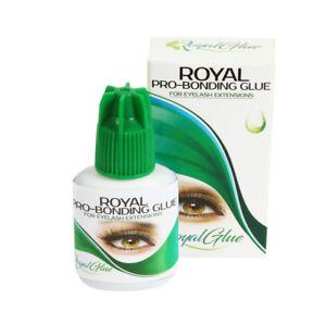 Bonded eyelash extensions