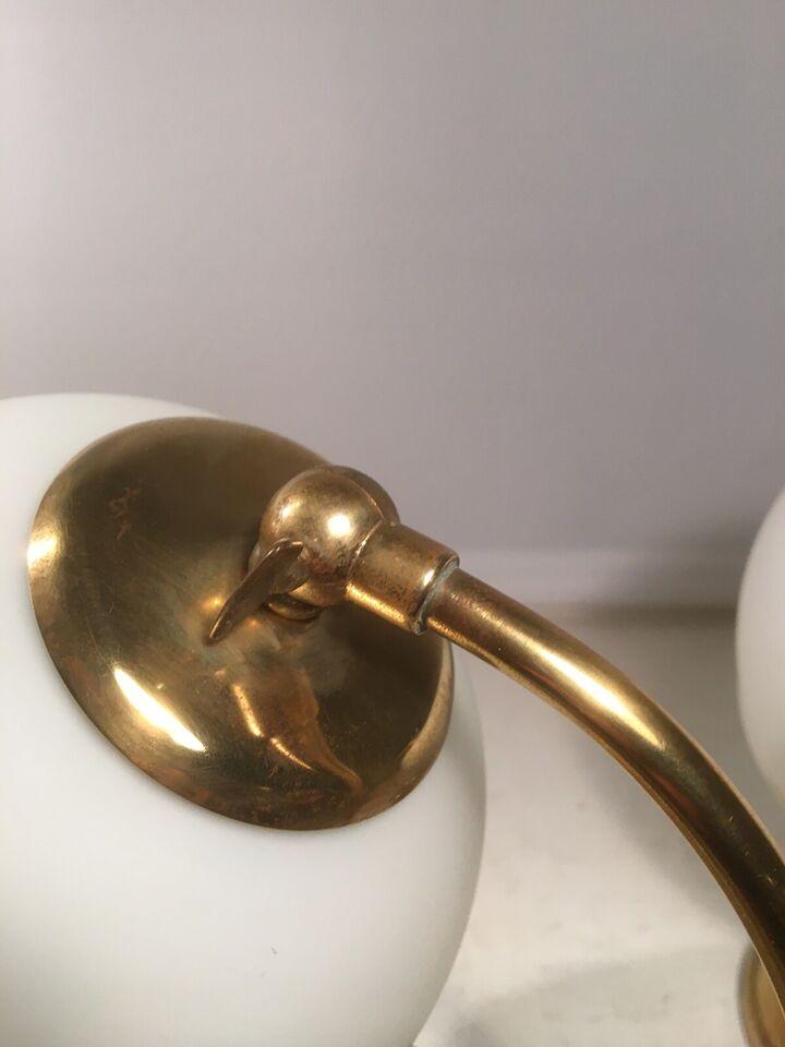 Lampe, 2 tyske lamper 40 erne