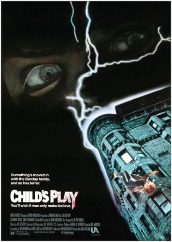 Childs Play Classic Movie Poster Print A0 A1 A2 A3 A4 Maxi