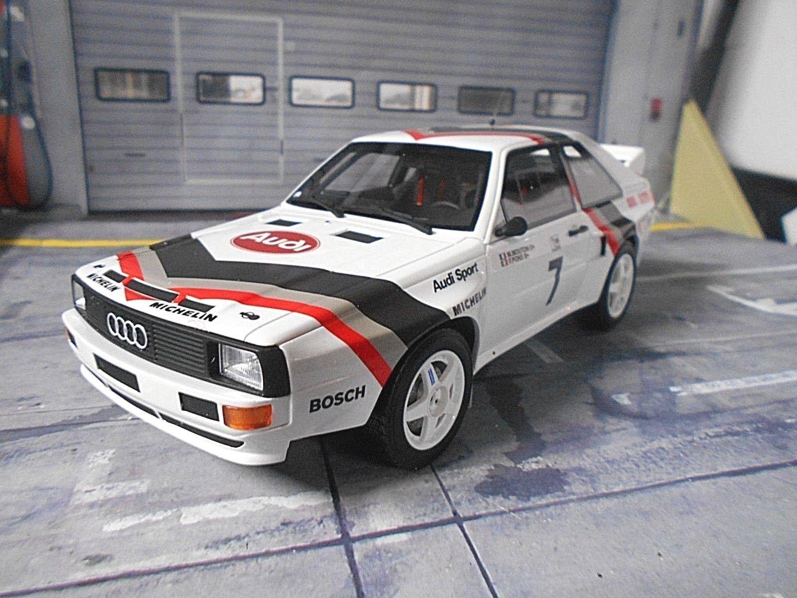 Audi s1 Sport quattro Rallye Hill Climb Pikes Peak 1984 mouton Otto NEUF 1 18