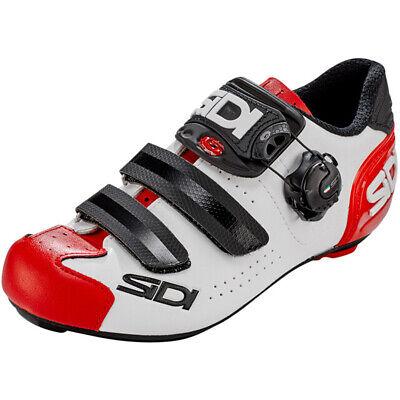 NEW IN BOX Sidi Alba 2 MEGA Cycling Bicycle Shoes Black Size 49 EU 13.5 US