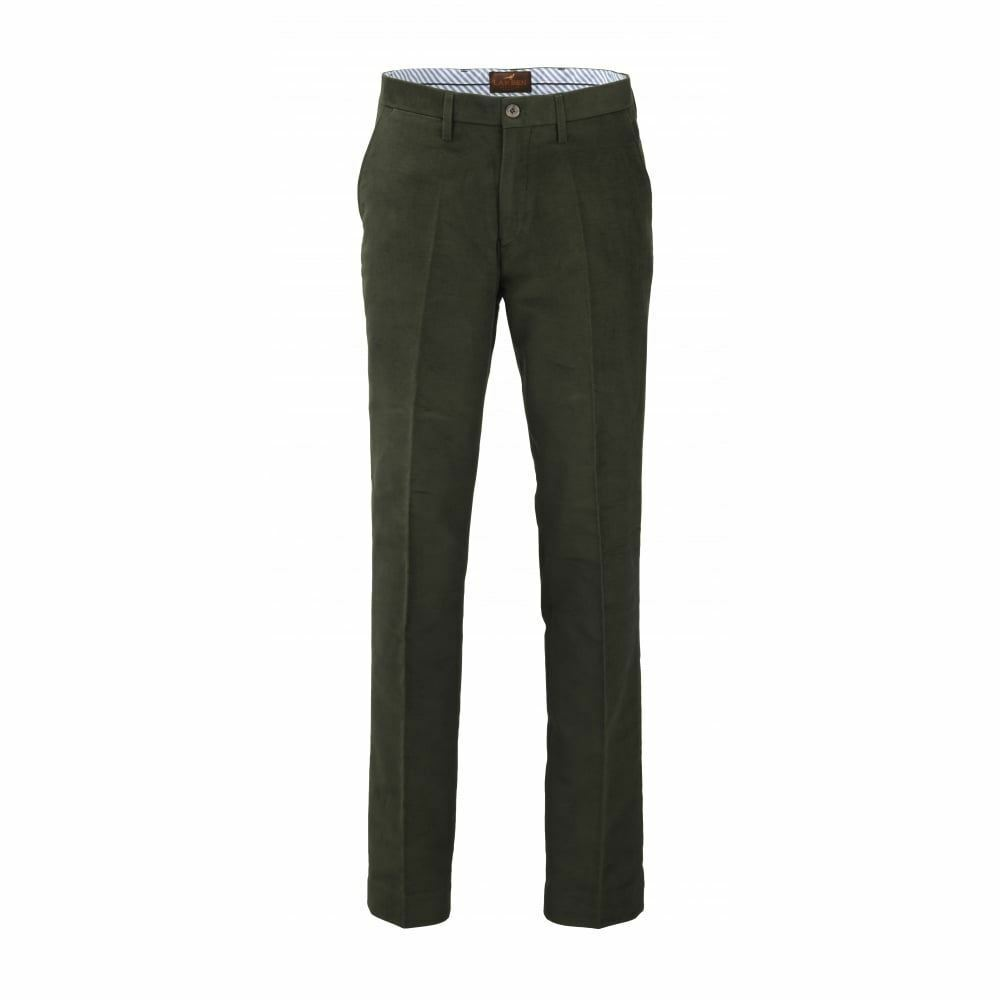 Laksen Broadland Trousers (Loden) (Hunting Country Pursuits)