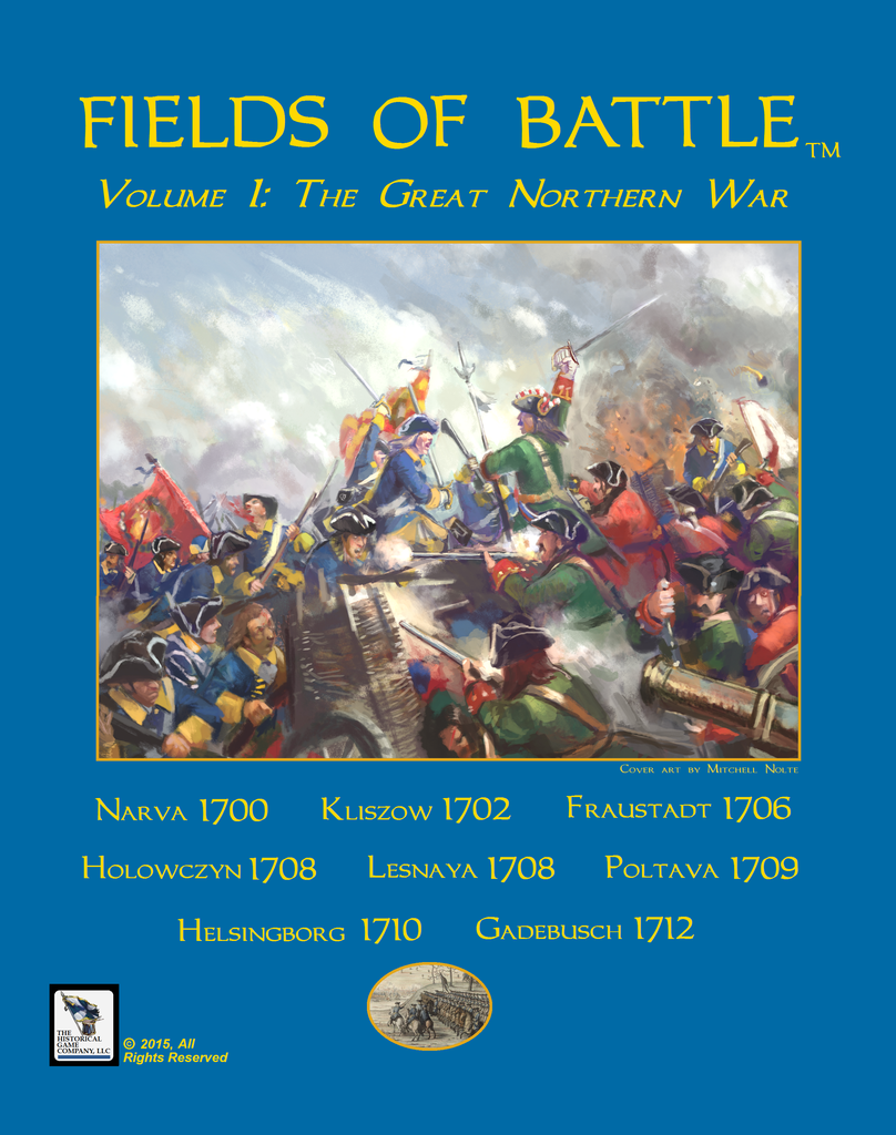 Tavola Wargioco - Campi di  Battaglia - Volume 1  The Great Northern Guerra - 18C  negozio online outlet