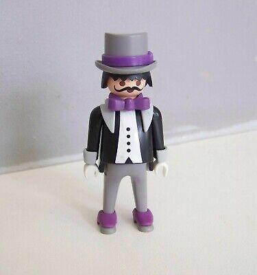 EPOQUE 1900 J339 Homme en Costume avec Chapeau Haut de Forme 5300 PLAYMOBIL