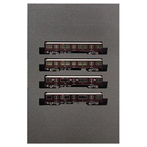 KATO 10 -1279 Hankyu Electric järnvägway Series 9300 Lägg till -på 4 -Bil Set N -skala ny.