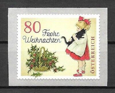skl. 3442** Delaying Senility nostalgisch Postfrisch Orderly Österreich Mi.nr 2018 /weihnachten