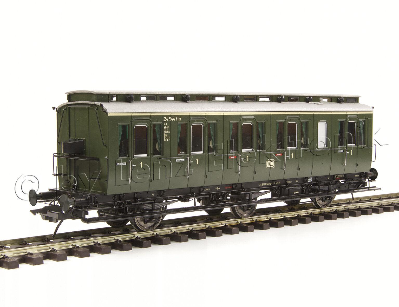 Lenz 41161-01 Preßischer Abteilwagen B3 1 Kl. Kl. Kl. Ffm 24944 DB Ep.III Spur 0 Neu 4120f6