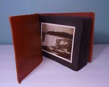 Antique Photo Album American 30's/40's NIAGARA FALLS Vintage Photographs