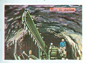 IMAGE-CARD-60s-Germany-Mine-de-charbon-Charbonnage-Houillere-Coal-mining