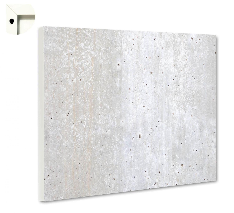 Magnettafel Pinnwand mit Motiv Muster Beton 2