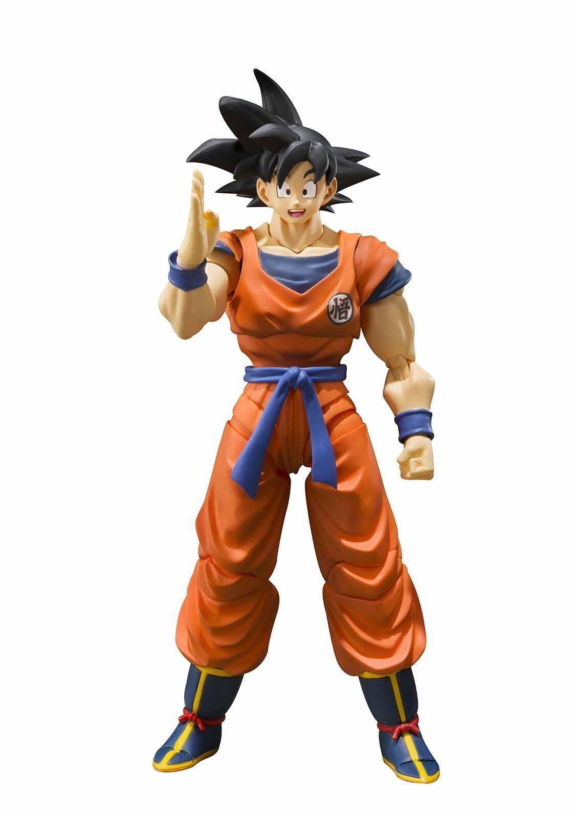 SH S.H. Figuarts Dragon  Ball Z DBZ Son Goku Saiyan cultivées sur terre  bonne qualité