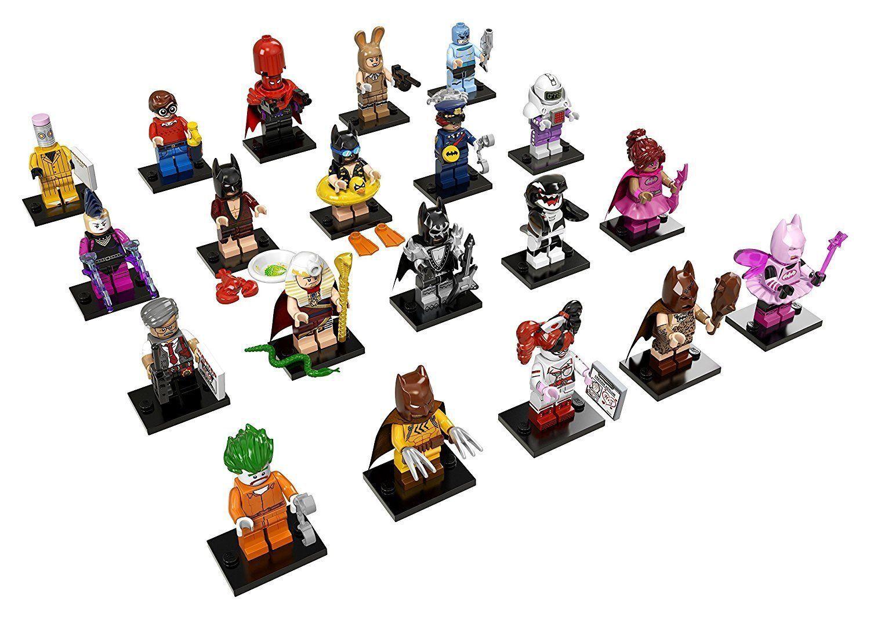 Lego 71017 Set - Batman The Movie Série 1 - 20 Mini Figurines Envoi Immediat