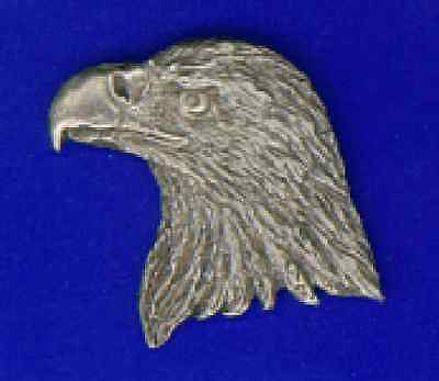 WOOD BADGE PEWTER BEAR HEAD PIN GRIZZLY WOODBADGE
