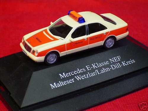 Mercedes Benz E-Klasse NEF Malteser Wetzlar Excl.Serie7