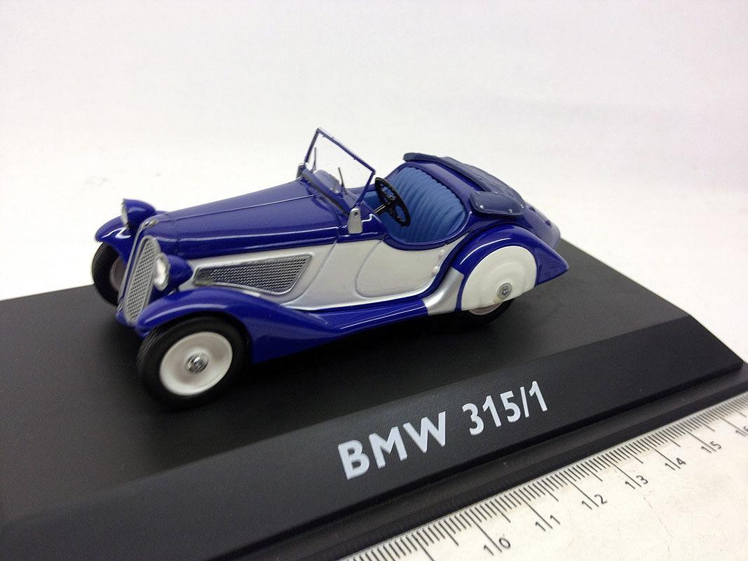 02325 Schuco 1 43 BMW 315 1 Cabrio Blu Bianco