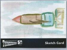 Thunderbirds 50 Years Sketch Card by Jerry Fleming of Thunderbird One