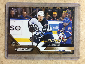 16-17-UD-Upper-Deck-Compendium-Series-3-831-KYLE-CONNOR-RC-Rookie-Gold
