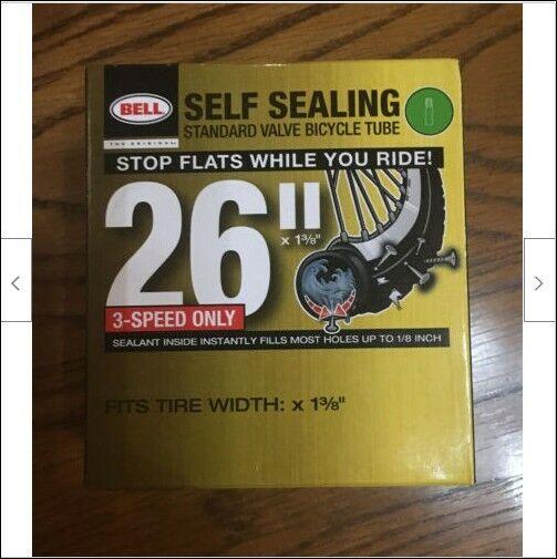Width Fit Range 1-3//8-Inch Bell 26-Inch Universal Inner Tube Black