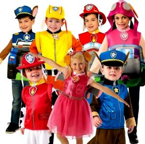 d3e4e0621ed2 Caricamento dell'immagine in corso Bambino-Paw-Patrol-Costume-Marshall -Rubble-Chase-Skye-