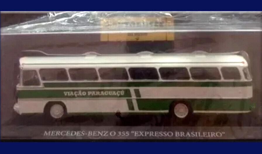 MERCEDES BENZ 355 EXPRESS - BRAZIL - BUSES OF THE WORLD - silverINA