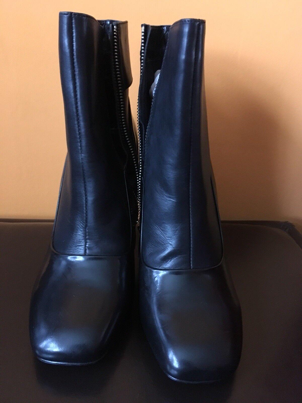 Karen Millen Black Boots size 41 8 - NEW IN BOX