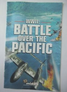 49724-Instruction-Booklet-WWII-Battle-Over-The-Pacific-Sony-PS2-Playstation