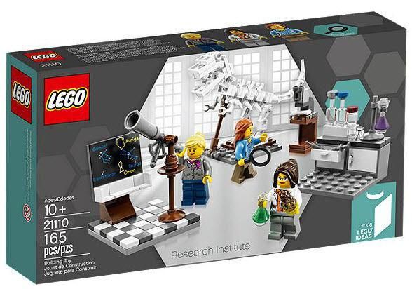 LEGO®  Cuusoo Ideas RESEARCH INSTITUTE Set 21110  Female Scientist  008 BRe nuovo  vieni a scegliere il tuo stile sportivo