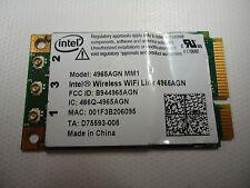 Intel 4965AGN MM1 D75593-008 Latitude D620 802.11agn Wireless WiFi PCI-E Card