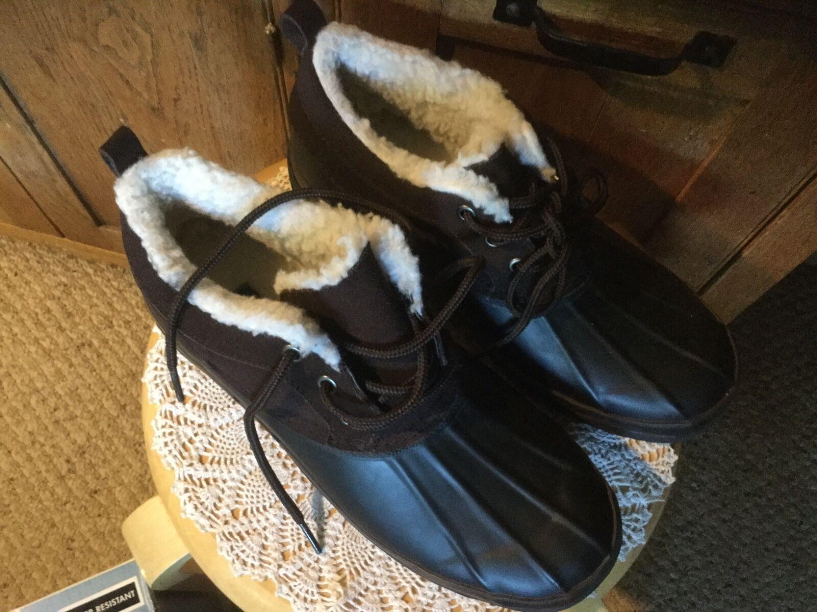 NIB Water Bass Hail 1 Winter Water NIB Resistant Stiefel.  Dark Braun.  Damenschuhe Größe 11. c1964d