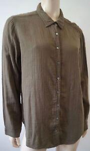 Camicia cotone top Usa lunghe M Xirena maniche Made a Camicia In in cotone casual qxtZSWn4RS