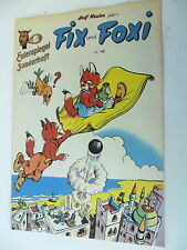 Eulenspiegel Sonderheft Nr. 10- Fix und Foxi  - Nachdruck - Rolf Kauka - Z. 1-