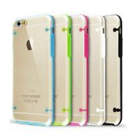 COVER TRASPARENTE ULTRASLIM IN TPU MORBIDA FLESSIBILE PER IPHONE 6 PLUS 5.5""